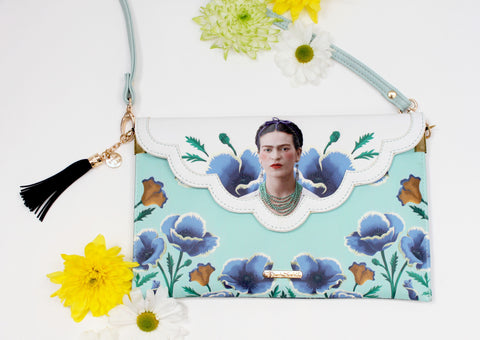 Frida Kahlo Clutch Bag - House of Disaster