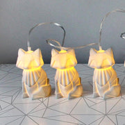 Grey Fox String Lights - House of Disaster