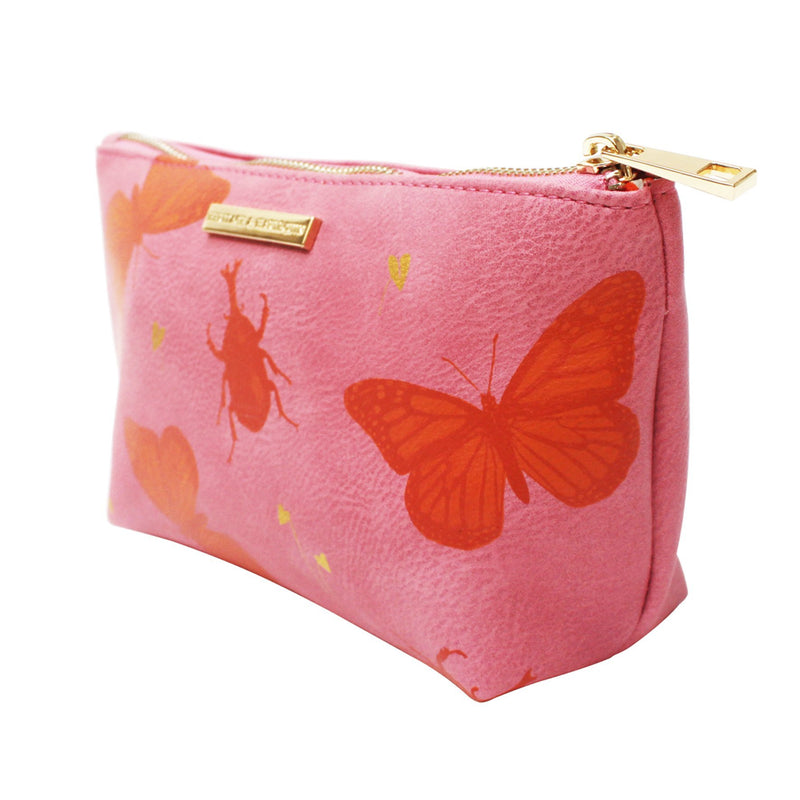Heritage and Harlequin Butterfly Make Up Bag