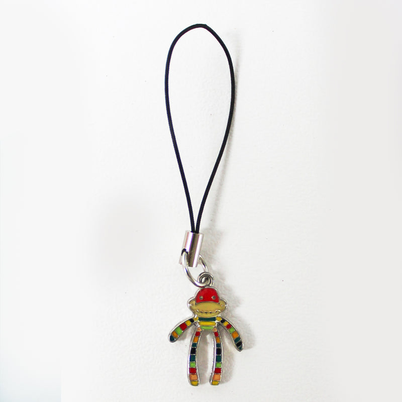 Monkey Phone Charm Assorted Colours