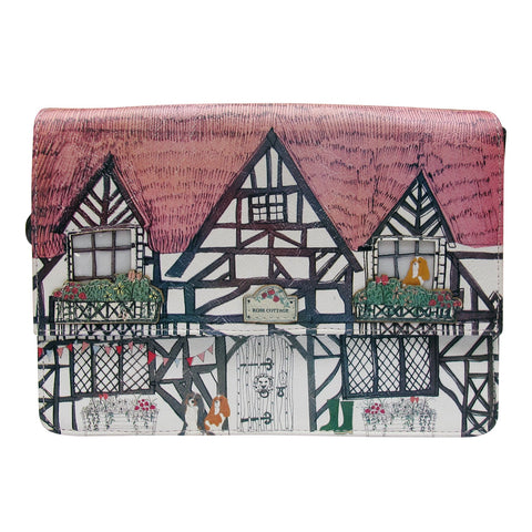 "Home ""Tudor"" Mini Bag - House of Disaster"