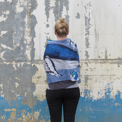 House of Disaster Into the wild Whale Scarf