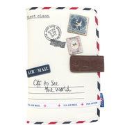 House of Disaster Paper Plane Cream Travel Wallet - House of Disaster