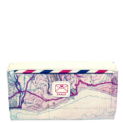 House of Disaster Paper Plane Ladies Wallet - House of Disaster
