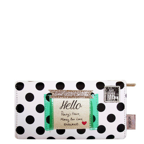 House of Disaster Pompom Tutti Spot Wallet