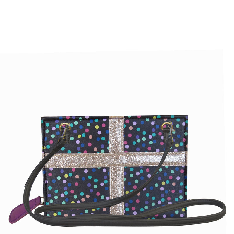 House of Disaster Pompom Tutti Spotty Mini Clutch - House of Disaster