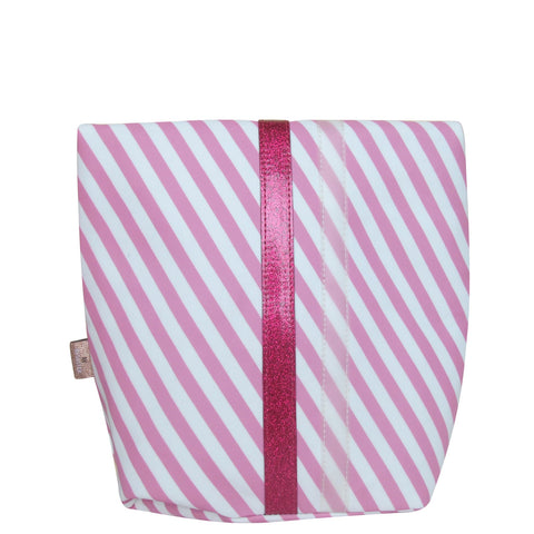 House of Disaster Pompom Tutti Stripe Wash Bag - House of Disaster