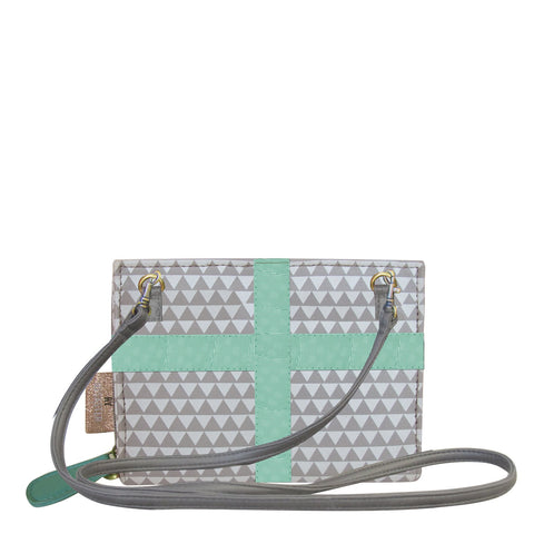 House of Disaster Pompom Tutti Triangle Mini Clutch - House of Disaster