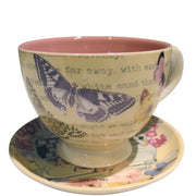 House of Disaster Type Write Tea Cup - House of Disaster