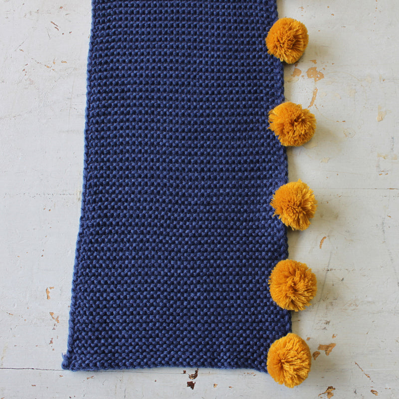 Loop Navy Scarf