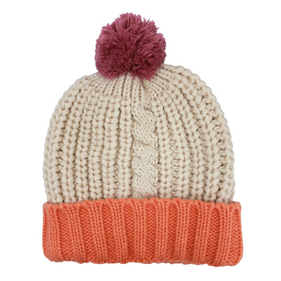Loop Cream Hat