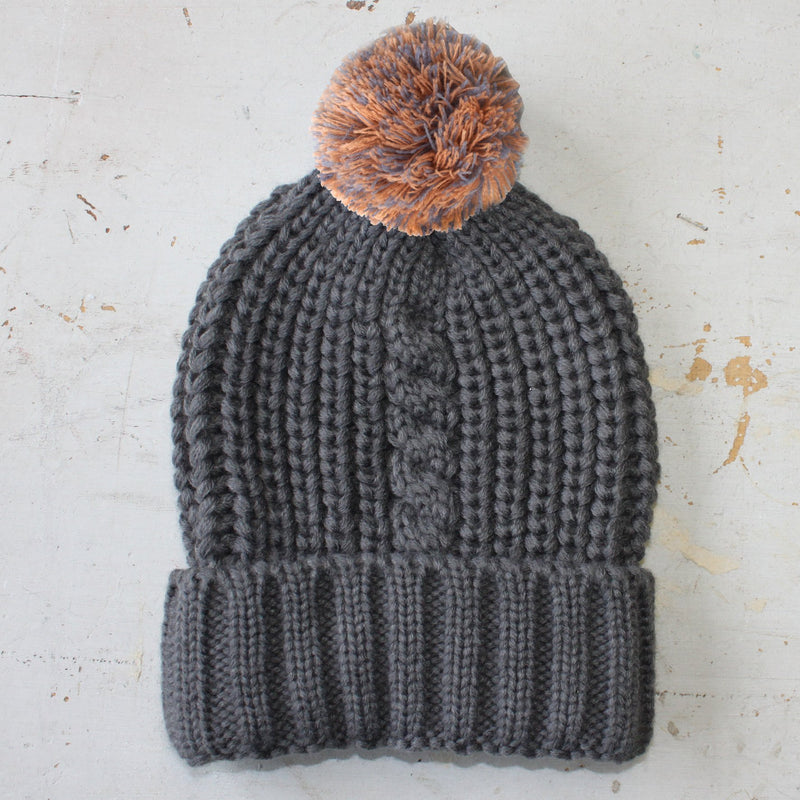 Loop Dark Grey Hat