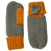 Loop Grey Mittens