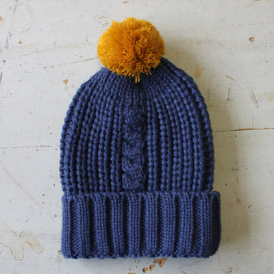 Loop Navy Hat