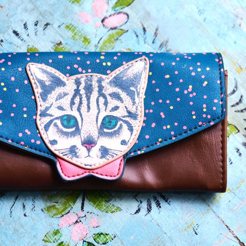 House of Disaster Meow Wallet - House of Disaster