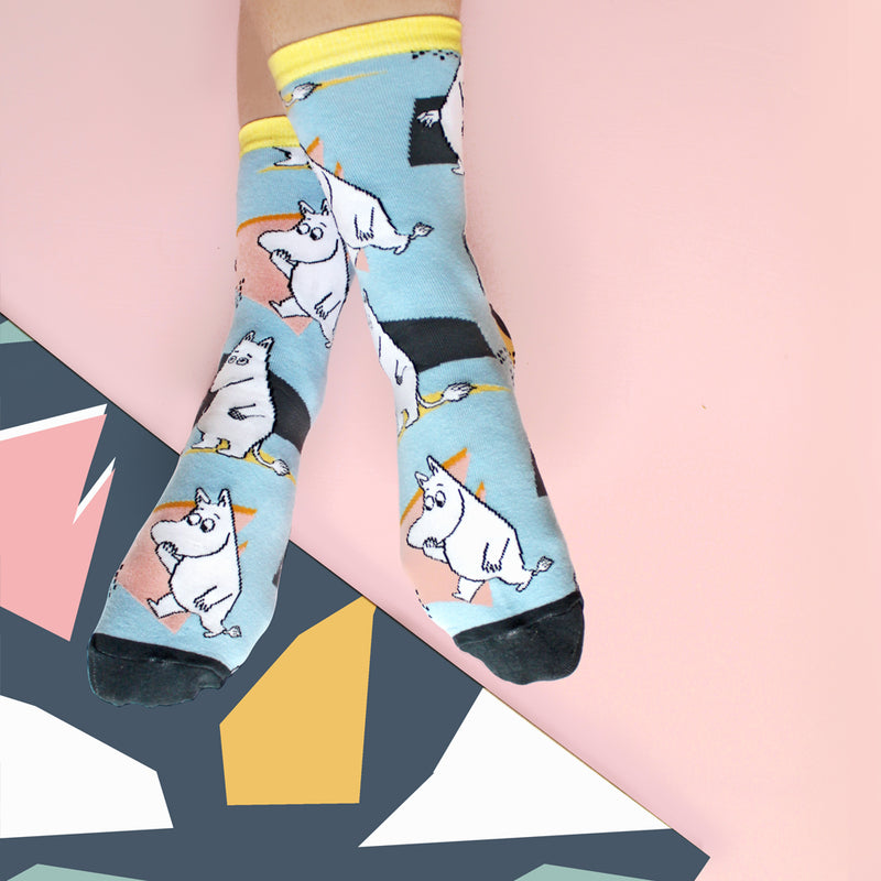 Moomin Socks Abstract