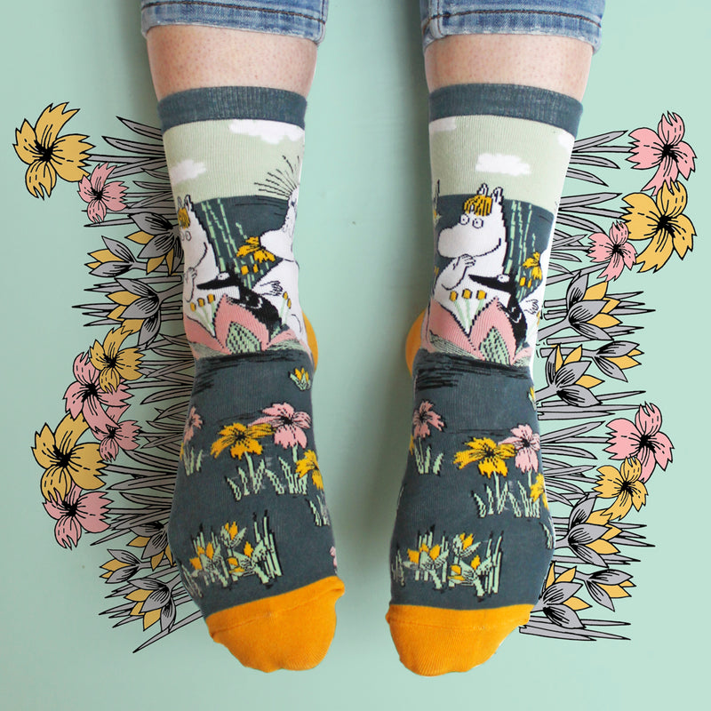 Moomin Socks Lotus