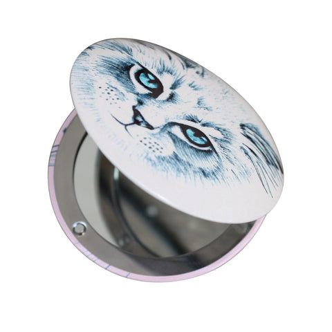 Meow Compact Mirror