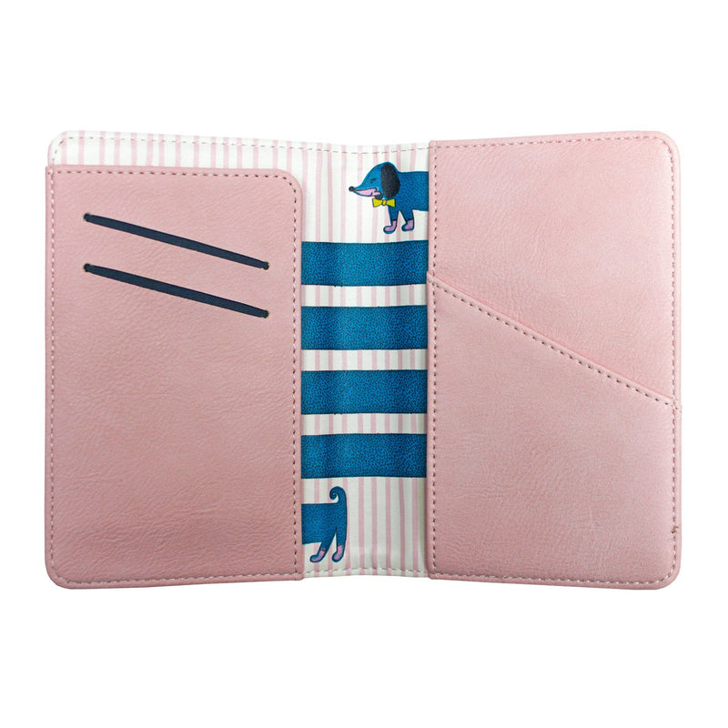 Over The Moon Dog Passport Holder