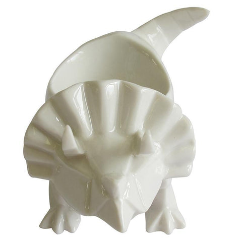 Origami White Egg Cup