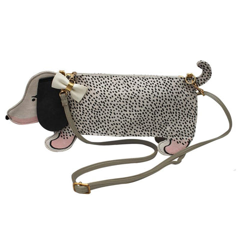 Over The Moon Sausage Dog Mini Bag