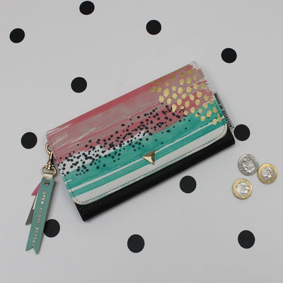 Paint Pattern Wallet