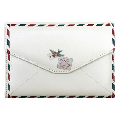 Paper Plane Travel Wallet Envelope