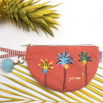 House of Disaster Sherbet Palm Tree Purse