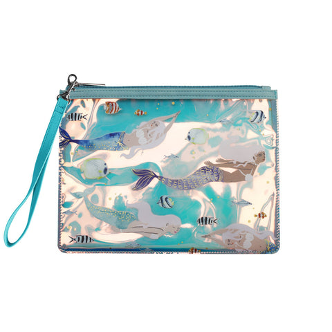 By The Sea Mermaid Wash Bag
