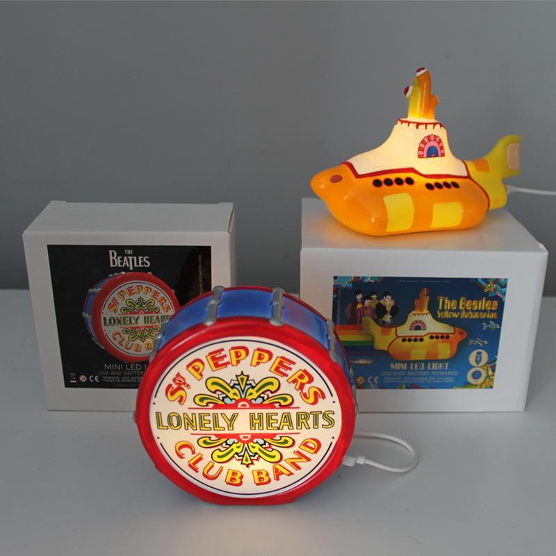 Mini LED Lamp The Beatles Sgt Pepper