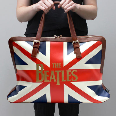 The Beatles Union Jack Overnight Bag