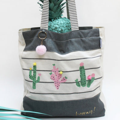 House of Disaster Sherbet Cactus Tote Bag