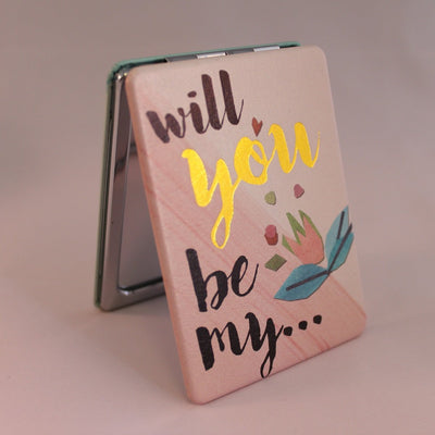 Ta-Daa (Bridesmaid) Compact Mirror