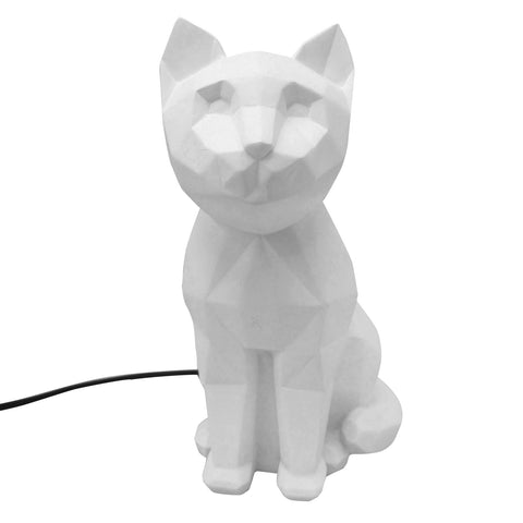 White Cat Lamp