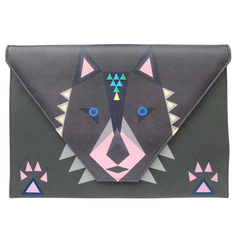Dakota Wolf Clutch