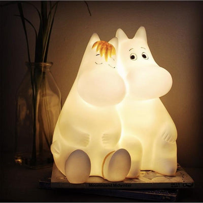 Moomin and snorkmaiden love lamp