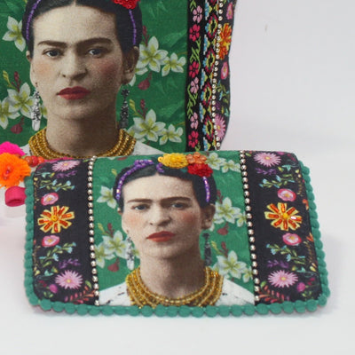 Frida Kahlo Photo Zip Pouch