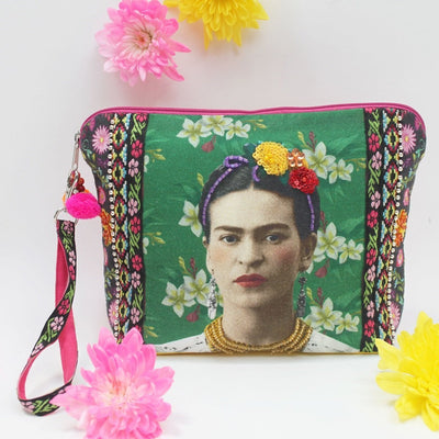 Frida Kahlo Photo Pouch
