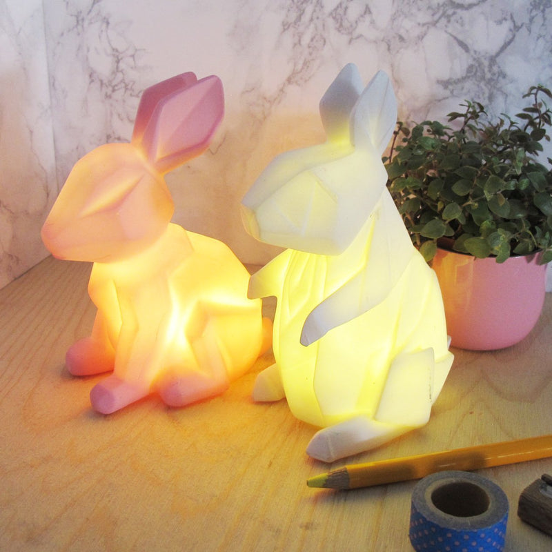 Mini LED Lamp Pink Rabbit
