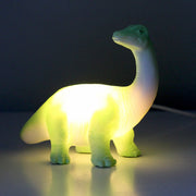 Green Diplodocus Mini LED Lamp - House of Disaster