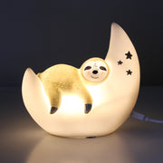 Mini LED Lamp Over The Moon Sloth