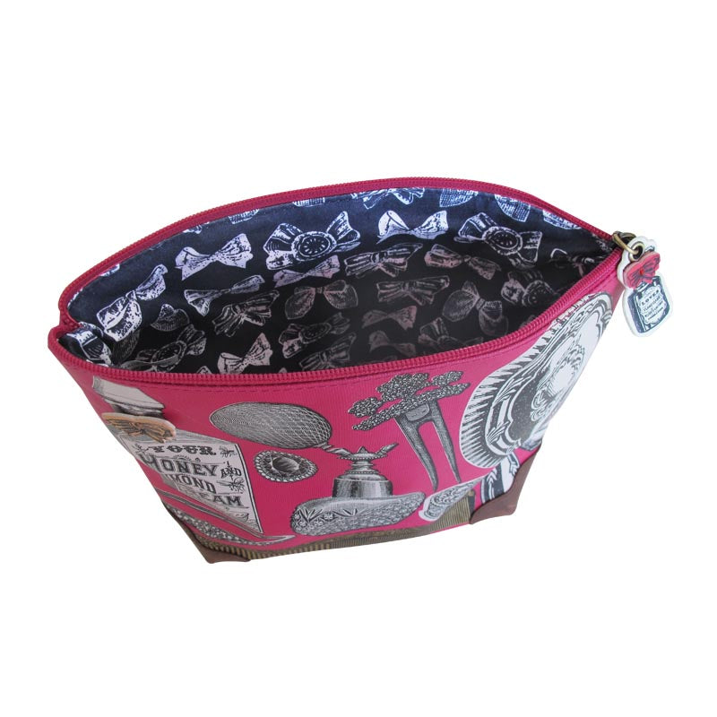 Object D'Art Pink Wash Up Bag