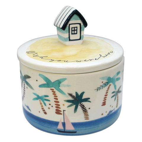 By The Sea Hut Jar With Gift Box - House of Disaster