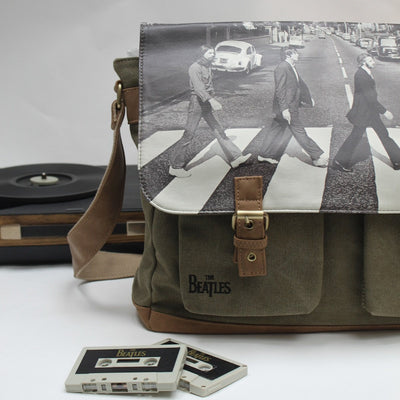 The Beatles Abbey Road Green Satchel