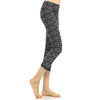Hip lifting elastic running pants fitness pants Yoga Pants Capris