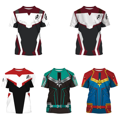 Avenger alliance children's T-shirt role play digital printed children's clothing