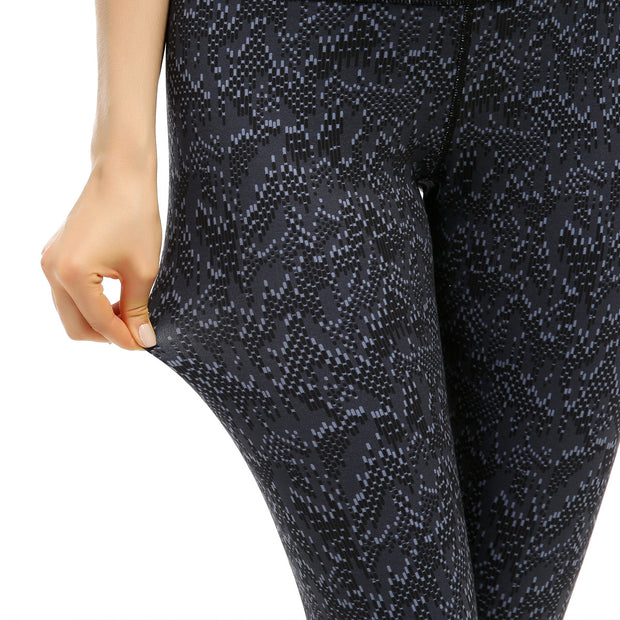Yoga Pants running fitness high waisted Capris