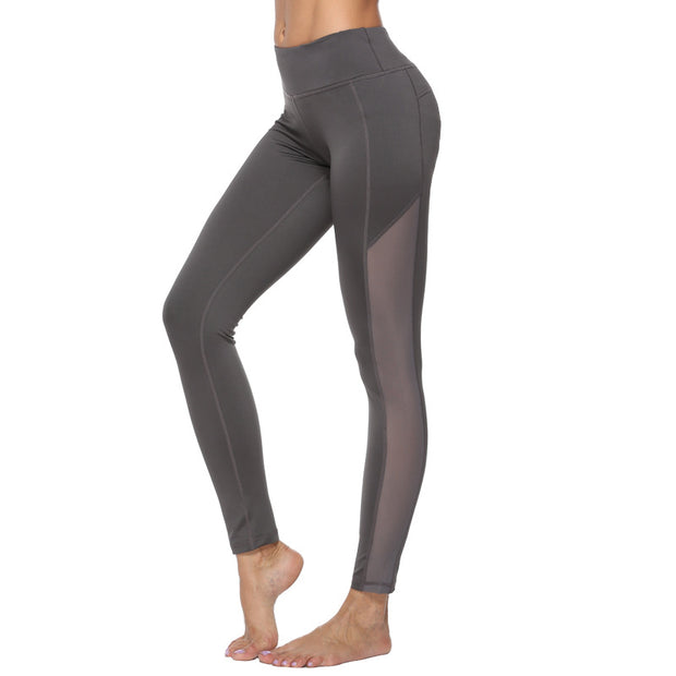 Fitness Yoga Pants high waisted Capris sexy European and American sports pants