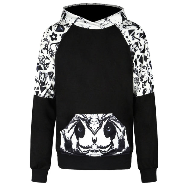 Autumn and winter sweater 3D digital printing loose set long sleeve Hoodie