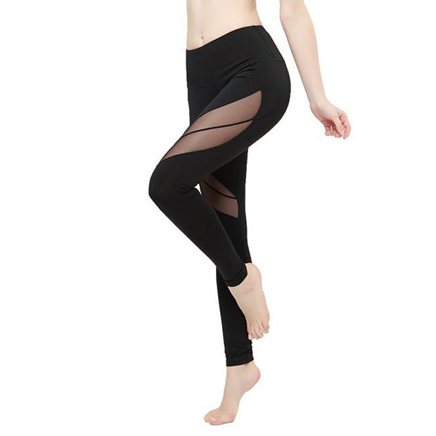 Sports Yoga Pants 9-point large slim Leggings